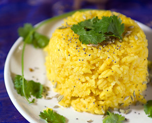 Yellow Rice with Cilantro