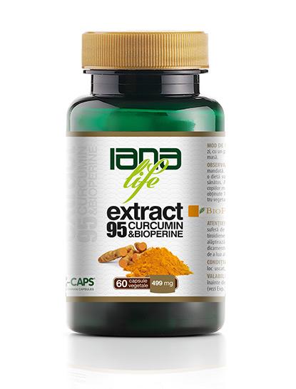 Capsule cu curcumin: Extract95 Curcumin&BioPerine